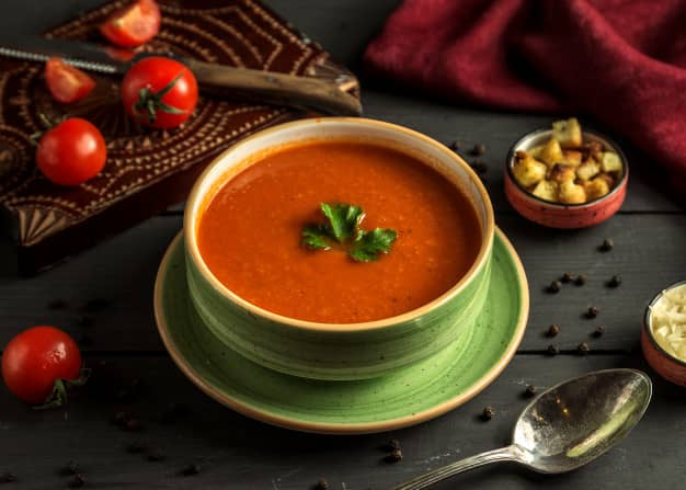 سوپ مایع ، غذای کم کالری