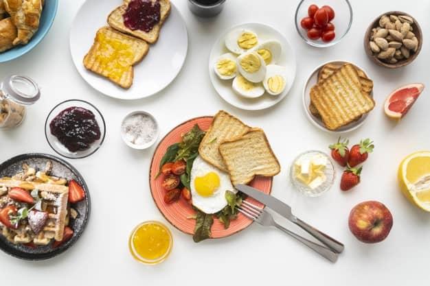 لیست صبحانه سالم