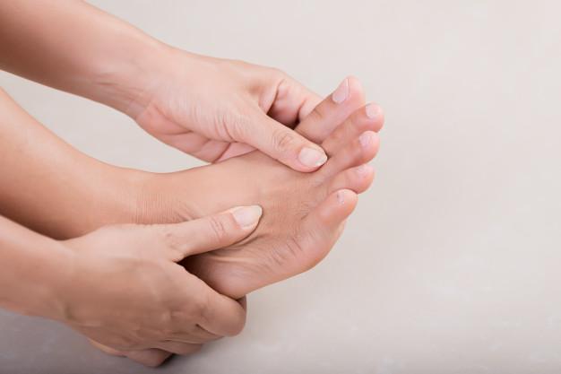 درمان بی حسی در پاها