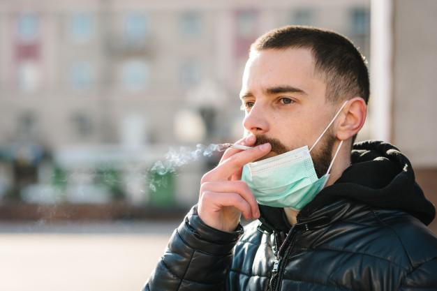 احتمال ابتلا به COVID-19 در افراد سیگاری