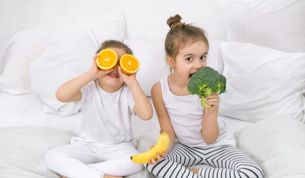 تشويق كودكان به خوردن سبزيجات