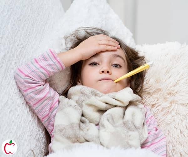 دختربچه ای که سرما خورده است | سرماخوردگی کودکان | سیوطب