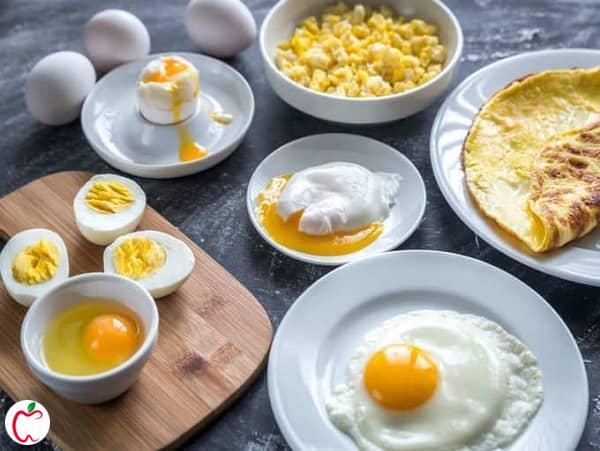 صبحانه رژیمی تخم مرغ - سیوطب
