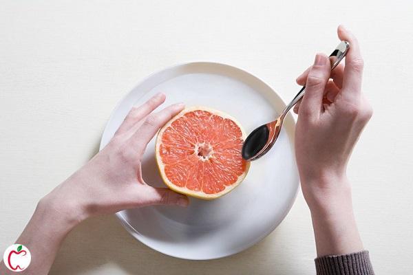 صبحانه رژیمی گریپ فروت - سیوطب