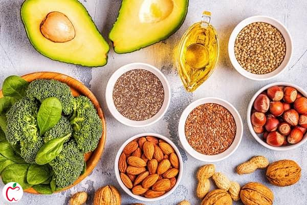 Good sources of unsaturated fats - سیوطب