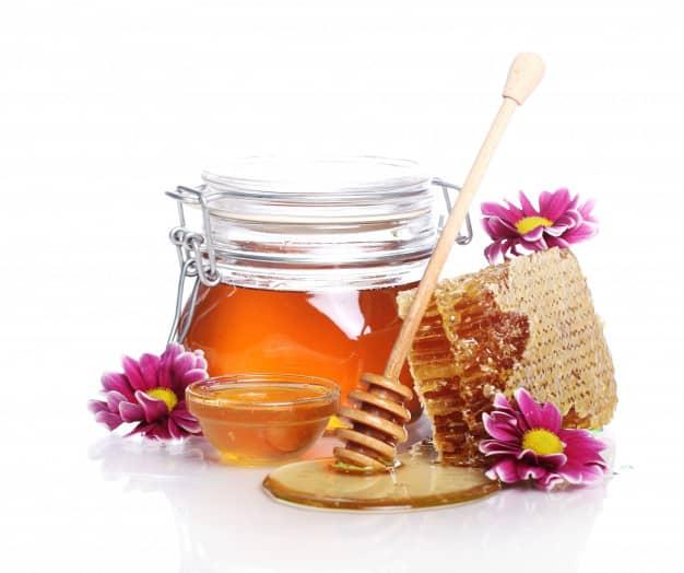 عسل درمان خانگی تیخال