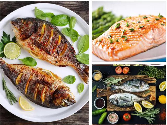 بهترین مواد غذایی برای تقویت سیستم ایمنی بدن ماهی کبابی و سبزیجات   سیوطب