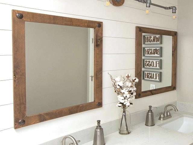 آینه های زیبا برای سرویس بهداشتی